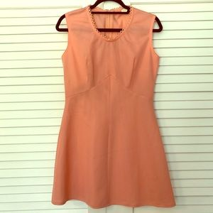 Dresses & Skirts - VINTAGE Peach 60s Mod Mini Dress